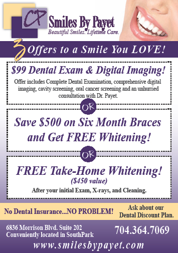 3 Offers for New Dental Patients in Charlotte, NC